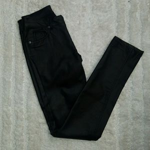 Faux Leather Pants size small